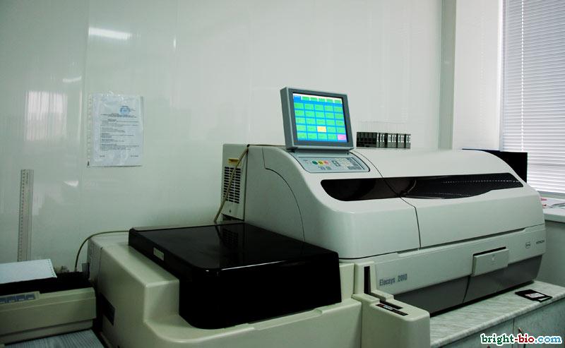 БРайт-Био: автоматический биохимический анализатор Элексис 2010 (ELECSYS 2010)